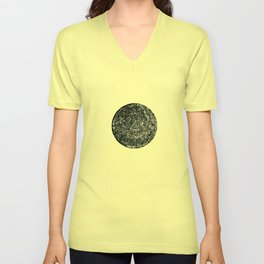 Black hole sun Unisex V-Neck