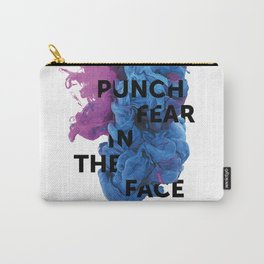 Punch Fear In The Face Carry-All Pouch