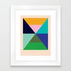 Dhurrie Ocean 2 — Matthew Korbel-Bowers Framed Art Print