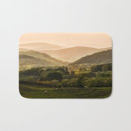 Sunny afternoon in Lake District Bath Mat