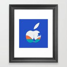 i touch Framed Art Print