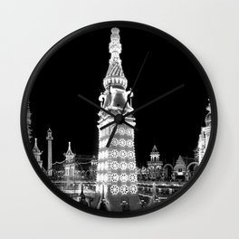 Luna Park, Coney Island New York (1905) Wall Clock