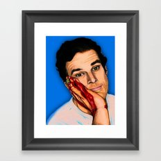 Perks Of Being A Serial Killer Framed Art Print
