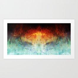 An All Consuming Fire Art Print
