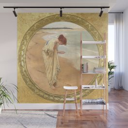 The sea hath its pearls - William Margetson Wall Mural