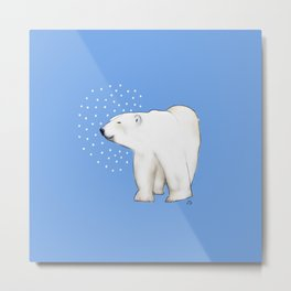 Polar Bear #8 Metal Print