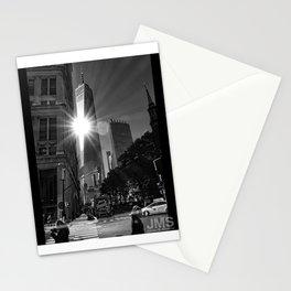 One World Trade Sunburst Stationery Cards