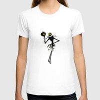 jack skellington T-shirts featuring Halloween Jack Skellington  by Raisya