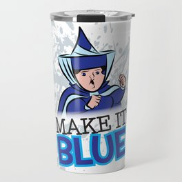 "Merryweather ""Make It Blue"" / Sleeping Beauty Travel Mug"