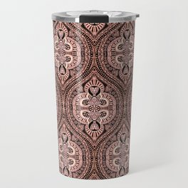 Copper Tribal Lace Ogee Travel Mug
