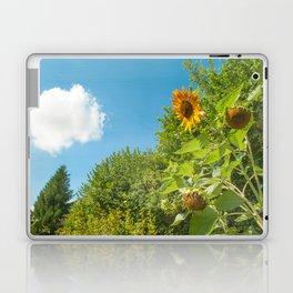 Cloud gazing Sunflower Laptop & iPad Skin