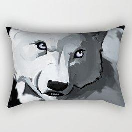 Wolf 4 Rectangular Pillow