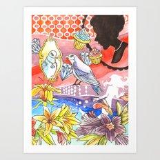 Vanity Dream Art Print