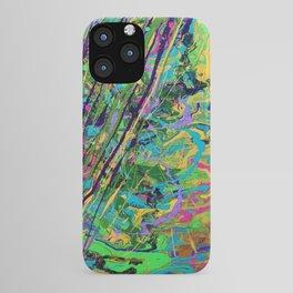 Mardi Gras Marble iPhone Case