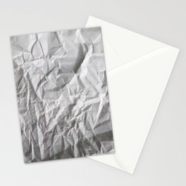 Crumpled Notepaper  Stationery Cards