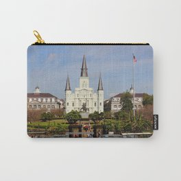 Jackson Square - New Orleans Carry-All Pouch