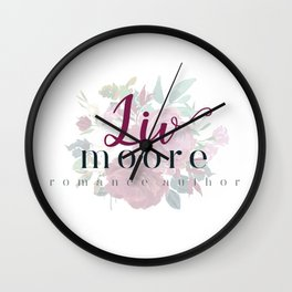 Liv Moore Wall Clock
