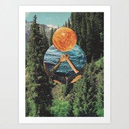 """""""The Listener"""" Art Print"""