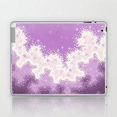 Lavender Chevron Queer Pride Galaxy Laptop & iPad Skin