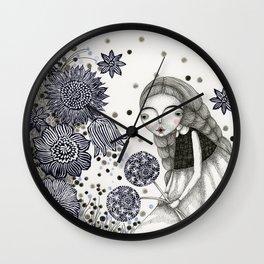 Summer's Night Wall Clock