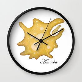 Amoeba Wall Clock