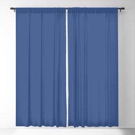 Nouvean Navy // Pantone 19-3832 TCX Blackout Curtain