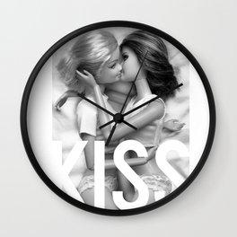 Barbie Lesbian KISS  Wall Clock