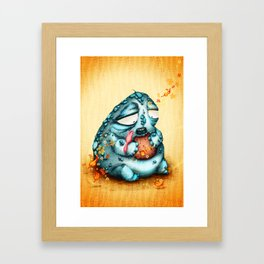 El Gordo y la Golondrina Framed Art Print
