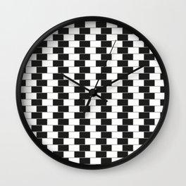 Cafe wall illusion Wall Clock