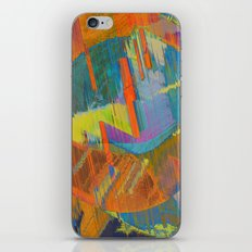Pixels On The Beach - Mark Gould iPhone & iPod Skin