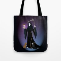 discworld Tote Bags featuring A PTribute by wolfanita