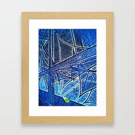 Yellow Paper Boat Framed Art Print