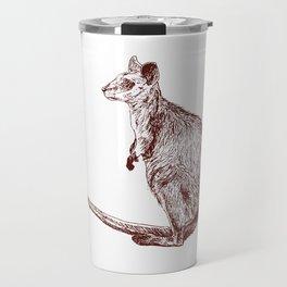 Swamp Wallaby Travel Mug