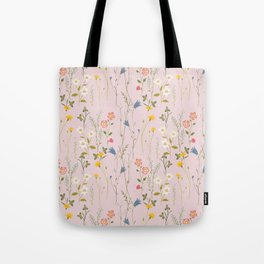 Dreamy Floral Pattern Tote Bag