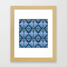 Holy Mola Fish Framed Art Print