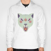 cosmic Hoodies featuring Cosmic Cat by LordofMasks