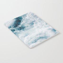 sea - midnight blue storm Notebook