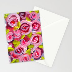 Roses on Roses on Roses Stationery Cards