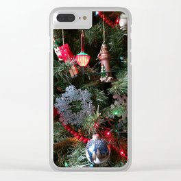 Christmas Cuteness 2 Clear iPhone Case
