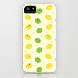Kawaii Lemons & Limes iPhone Case