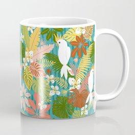 Bohemian Bahama -Tropical Pattern Coffee Mug