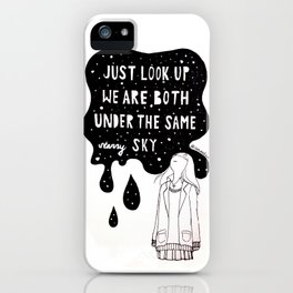 missing you iPhone Case