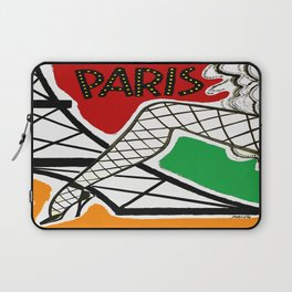 Vintage Paris France Travel Laptop Sleeve