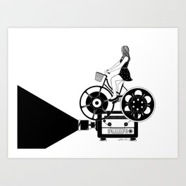 Cinema Paradiso Art Print