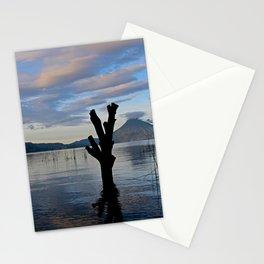 Sunrise at Lago Atitlan,Guatemala Stationery Cards