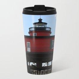Seven Foot Knoll Lighthouse Travel Mug
