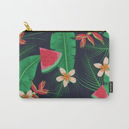 Tropical Watermelon Carry-All Pouch