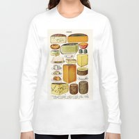 cheese Long Sleeve T-shirts featuring CHEESE by Kathead Tarot/David Rivera