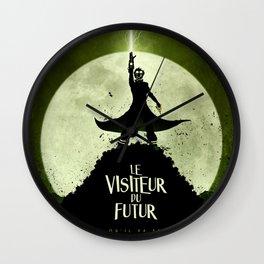 LE VISITEUR DU FUTUR - NO FUTURE Wall Clock