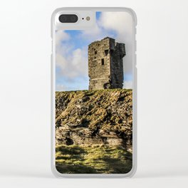 Travel to Ireland: Watching Over the Cliffs of Moher Clear iPhone Case